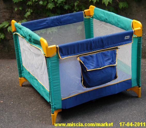 Lettino Box.Miscia Market Mercatino Lettino Box Da Campo
